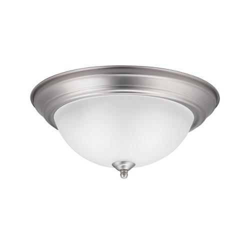 "Kichler 8112 2 Light 13-1/4"" Wide Flush Mount Ceiling Fixture - image 1 of 1"