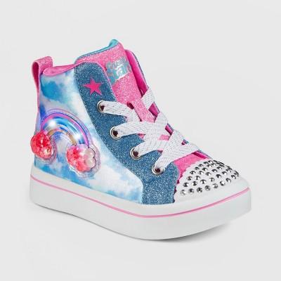 Toddler Girls' S Sport by Skechers Efie Light-Up Apparel Sneakers - Blue