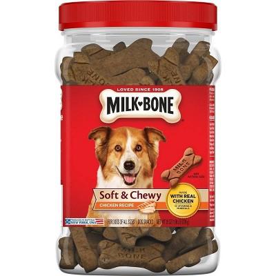 Milk-Bone Soft & Chewy Chicken Flavor Dog Snacks - 25oz