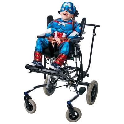 Kids' Adaptive Avengers Captain America Halloween Costume