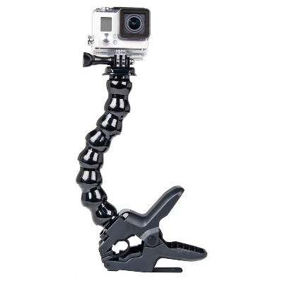 Bower BendiFlex Clamp Mount for GoPro 3, 3+, 4, 5, LCD and Sessions - Black (XAS-CLAMP)