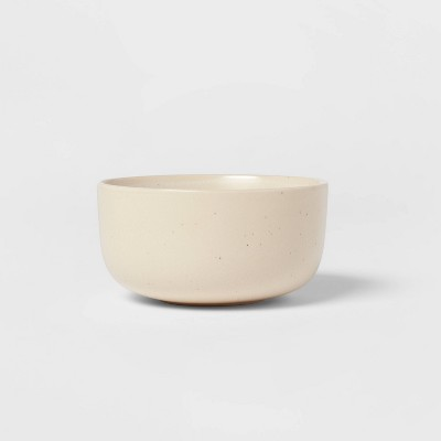 22oz Stoneware Tilley Dining Bowl White - Project 62™