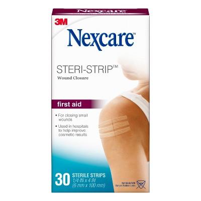 Nexcare Steri-Strip Skin Closure - 30ct