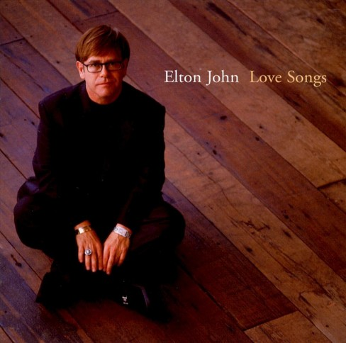 Elton john - Love songs (CD) - image 1 of 1