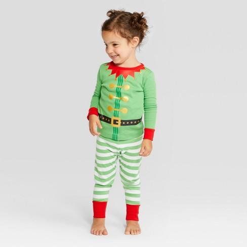 Toddler Holiday Elf Pajama Set - Wondershop™...   Target d395dccb5