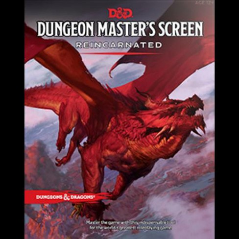 Dungeon Master's Screen Reincarnated Hardcover - image 1 of 1