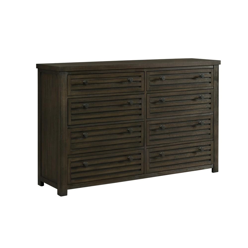 Montego 8 Drawer Dresser - Toasted Walnut Picket House Furnishings