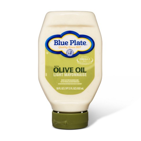 Blue Plate Olive Oil Light Mayonnaise - 18 fl oz - image 1 of 1