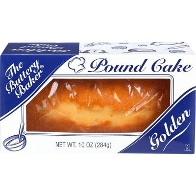 The Buttery Baker Golden Pound Cake - 10oz