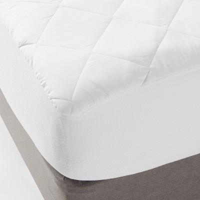 Queen Machine Washable Waterproof Mattress Pad White - Made By Design™