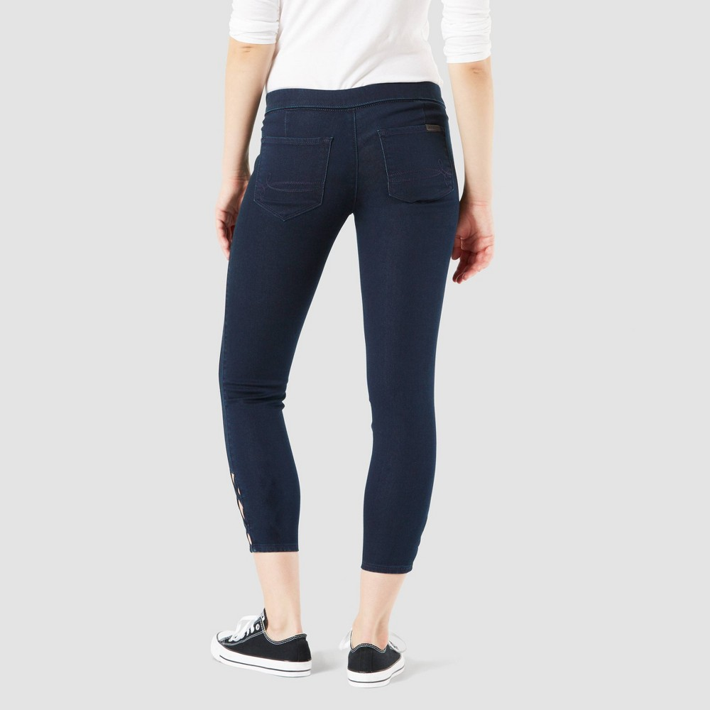 Denizen from Levi's Women's Low-Rise Ankle Jeggings - Dark Wash XL