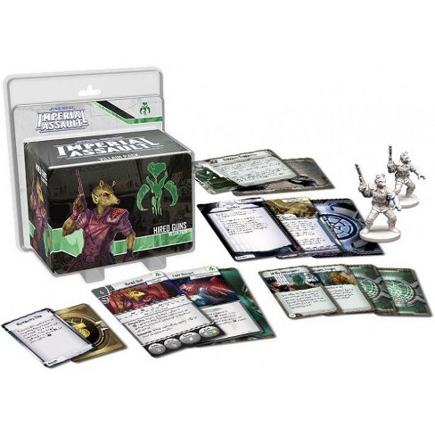Star Wars Imperial Assault Hired Guns Villain Pack - image 1 of 1
