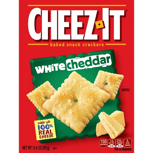 cheez it white cheddar baked snack crackers 12 4o target