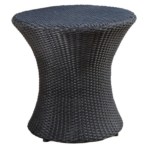 Adriana Wicker Patio Accent Table - Christopher Knight Home - image 1 of 4