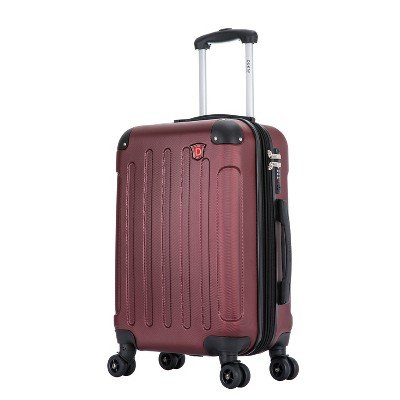 DUKAP Intely 20'' Hardside Spinner Suitcase with Integrated USB Port