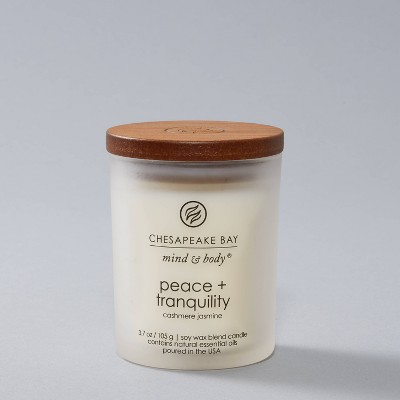 3.7oz Small Candle Jar Peace & Tranquility - Chesapeake Bay Candle