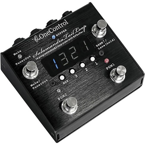One Control Salamandra Tail Loop Programmable Effect Switcher - image 1 of 3