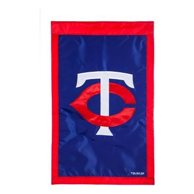 Minnesota Twins Applique House Flag