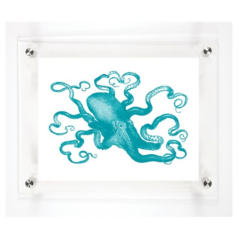 Mitchell Black - Octopus Decorative Framed Wall Canvas - image 1 of 1