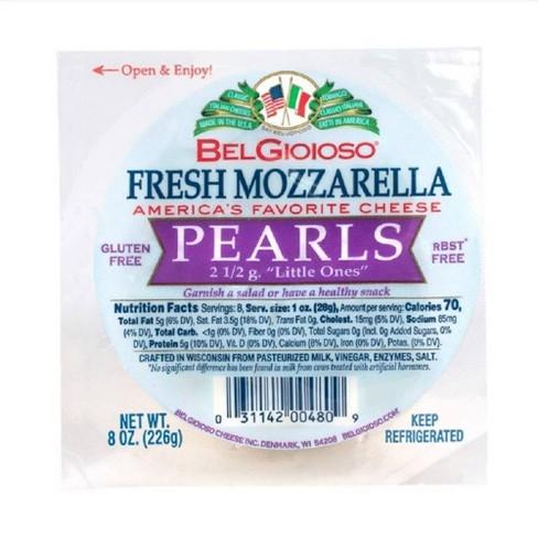 Belgioioso Fresh Mozzarella Pearl Cheese - 8oz - image 1 of 4