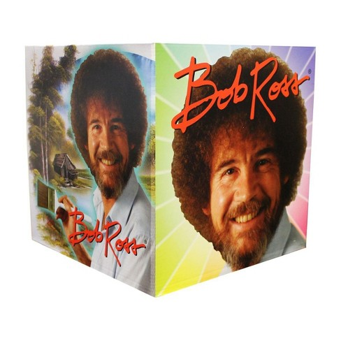 """Wisconsin Packaging Corporation Bob Ross 9.5"""" x 9.5"""" x 9.5"""" Flat Empty Gift Box - image 1 of 1"""