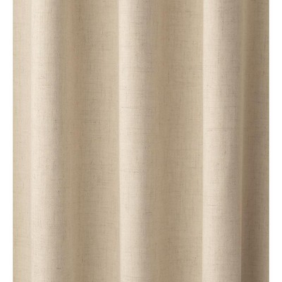 "Homespun Rod-Pocket Insulated Curtain, 72""L"
