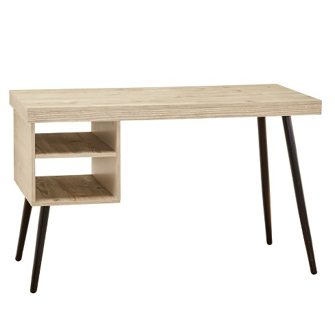 Sawyer Desk - Natural/Black - Buylateral - image 1 of 3
