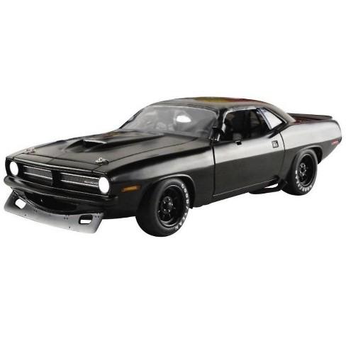 1970 Plymouth Barracuda Trans Am Matt Black Street Version