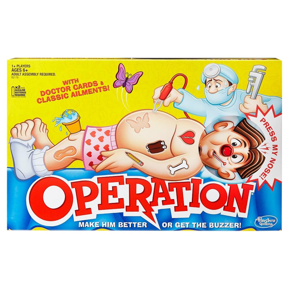 Operation Board Game, Board Games