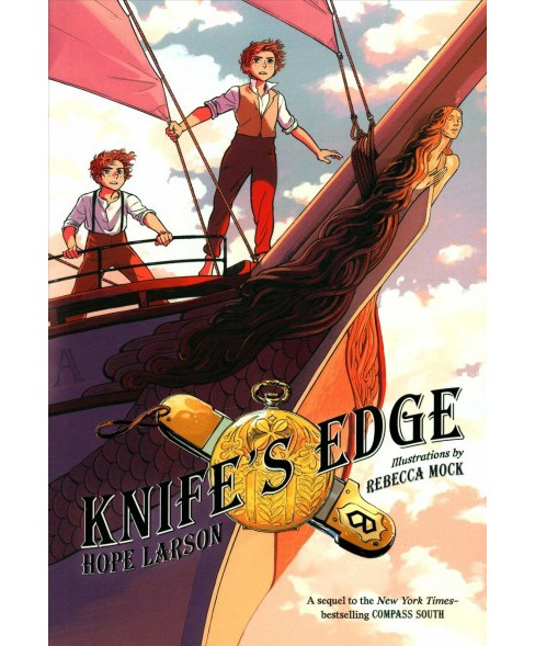 Knife's Edge -  (Four Points) by Hope Larson (Hardcover) - image 1 of 1