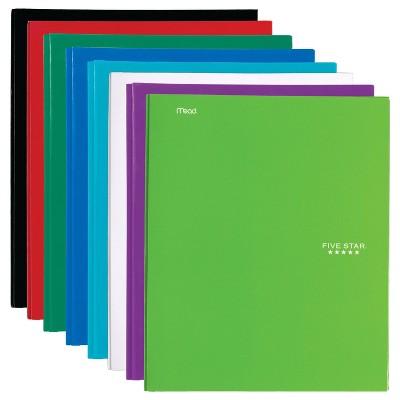 Five Star Paper Portfolio Pocket and Prong Random Color - Mead