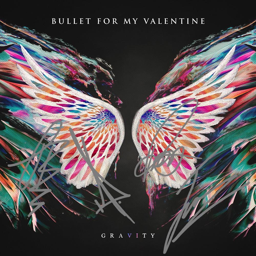 Bullet For My Valentine - Gravity (Target Exclusive + Autographed Booklet)