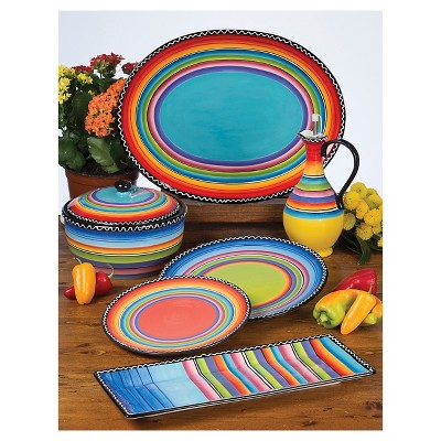 """Certified International Tequilla Sunrise Collection 11""""x11"""""""