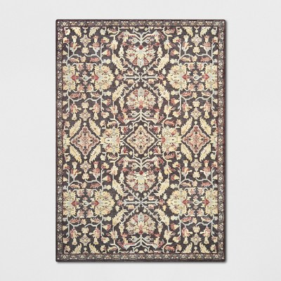 Duffield Chenille Tapestry Persian Floral Woven Area Rug - Threshold™