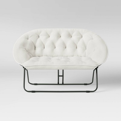 Sherpa Double Dish Chair   Room Essentials by Room Essentials