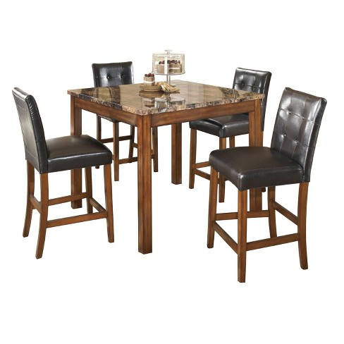 Dining Table Set Warm Cinnamon Signature Design By Ashley Target