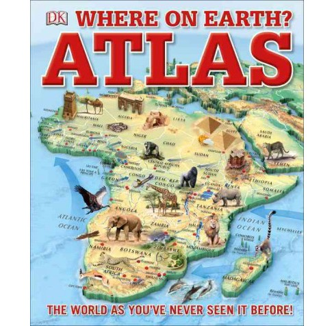 Where on Earth? Atlas (Hardcover) - image 1 of 1