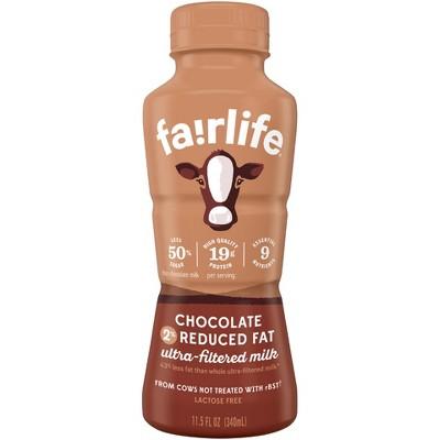 Fairlife Lactose-Free 2% Chocolate Milk - 11.5 fl oz