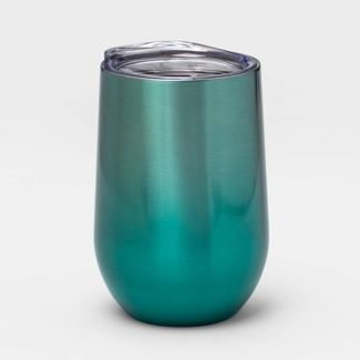 11oz Stainless Steel Water Bottle Dark Teal