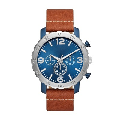 Men's Strap Watch - Goodfellow & Co™ Blue