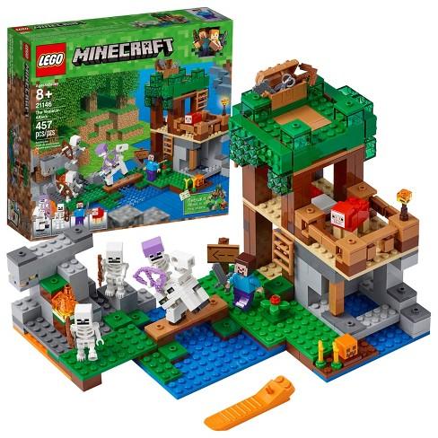 lego minecraft the skeleton attack 21146 target