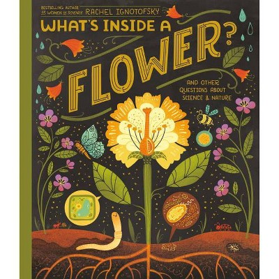 What's Inside a Flower? - by  Rachel Ignotofsky (Hardcover)