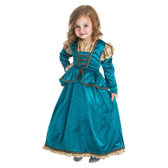 Little Adventures Girls' Scottish Princess Dress - XL, Girl's, Green image number null