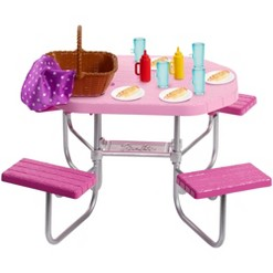Barbie Picnic Table Accessory
