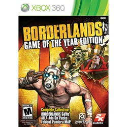Take-Two Borderlands Game of the Year Edition - First Person Shooter - Xbox 360