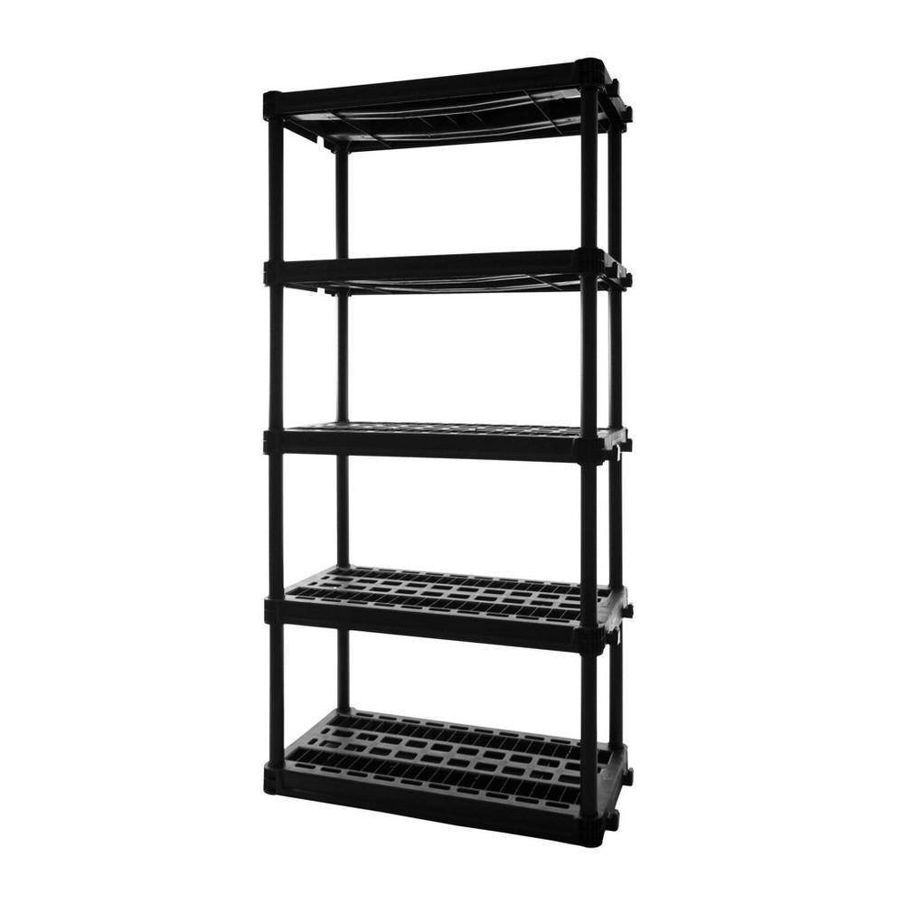 Image of Plano 5 Shelf Heavy Duty Utility Storage - Gray