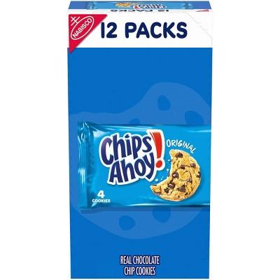 Chips Ahoy! Original Chocolate Chip Cookies - Single Serve - 16.8oz/12ct