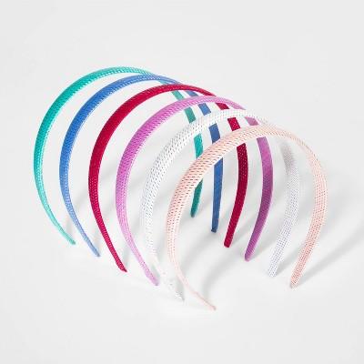 Girls' 6pk Woven Headband - Cat & Jack™