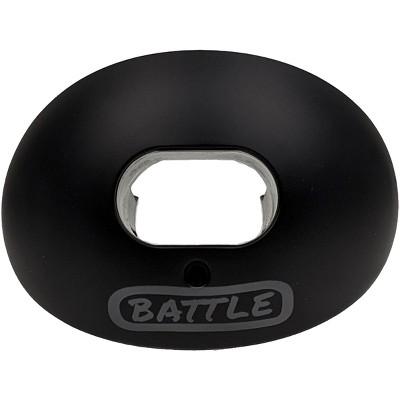 Battle Sports Science Blackboard Oxygen Lip Protector Mouthguard - Black