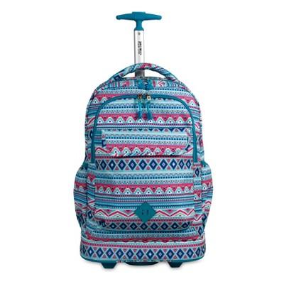 J World Sweep 13'' Rolling Backpack